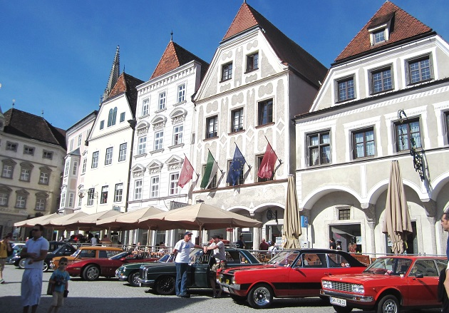 Oldtimer Stadtplatz