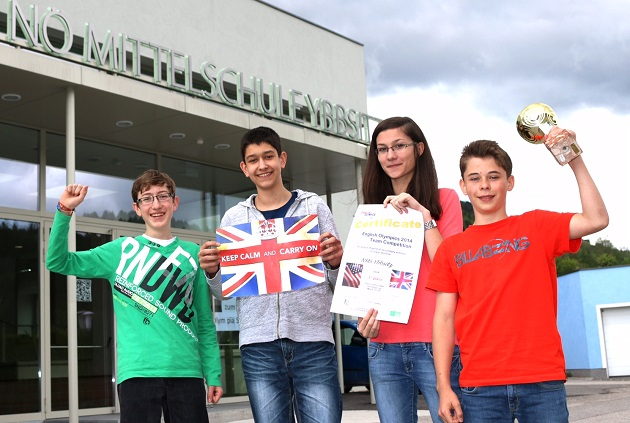 Englisch Olympiade NMS Ybbsitz