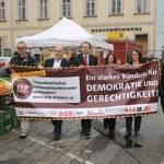 Alle Macht den Konzernen? Info-Tour zu TTIP & Co. macht Halt in Amstetten.