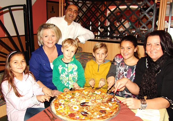 Die 14 Zutaten Pizza