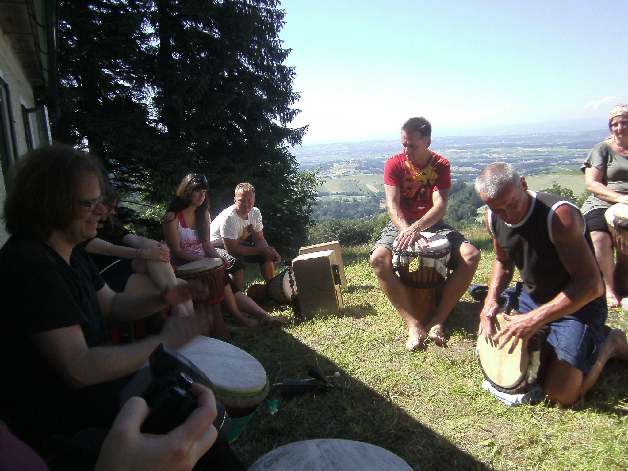 Drums on Mountain Foto: Georg Edlinger