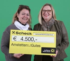 Sabine Hauger - Amstetten Marketing GmbH, Theresia Ruß, Kidsnest-Kinderschutzzentrum Mostviertel Foto: Kommunikationsagentur Sengstschmid