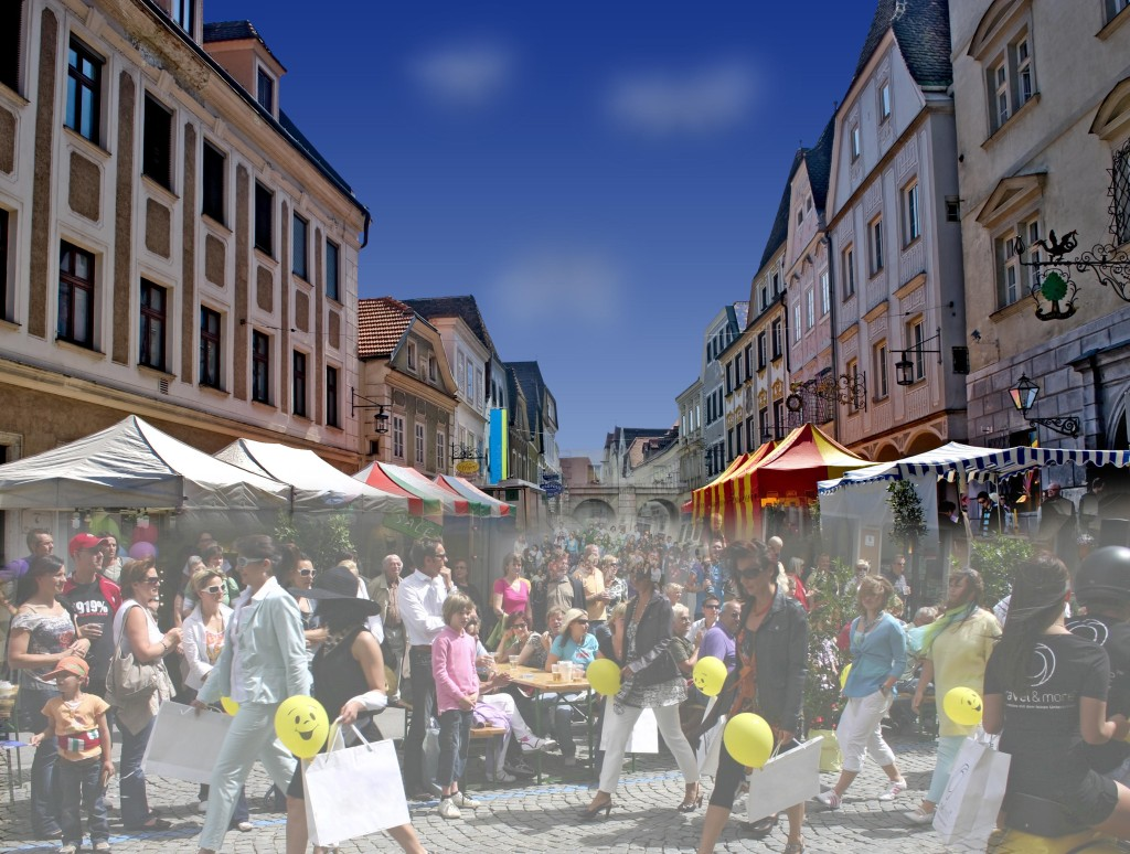 Kollage Grünmarkt-Fest Foto: Rußkäfer