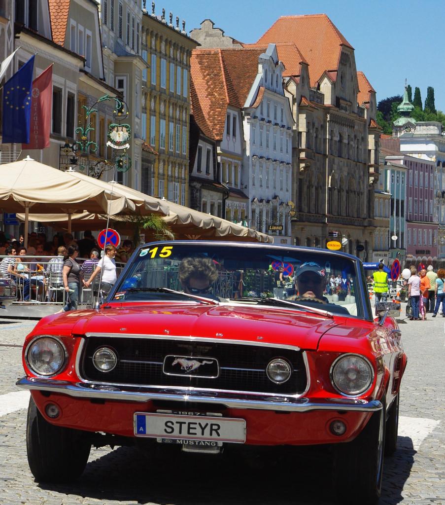 Oldtimer Steyr Foto: Stadtmarketing Steyr