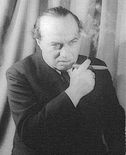 Franz Werfel fotografiert von Carl van Vecchten im Dezember 1940