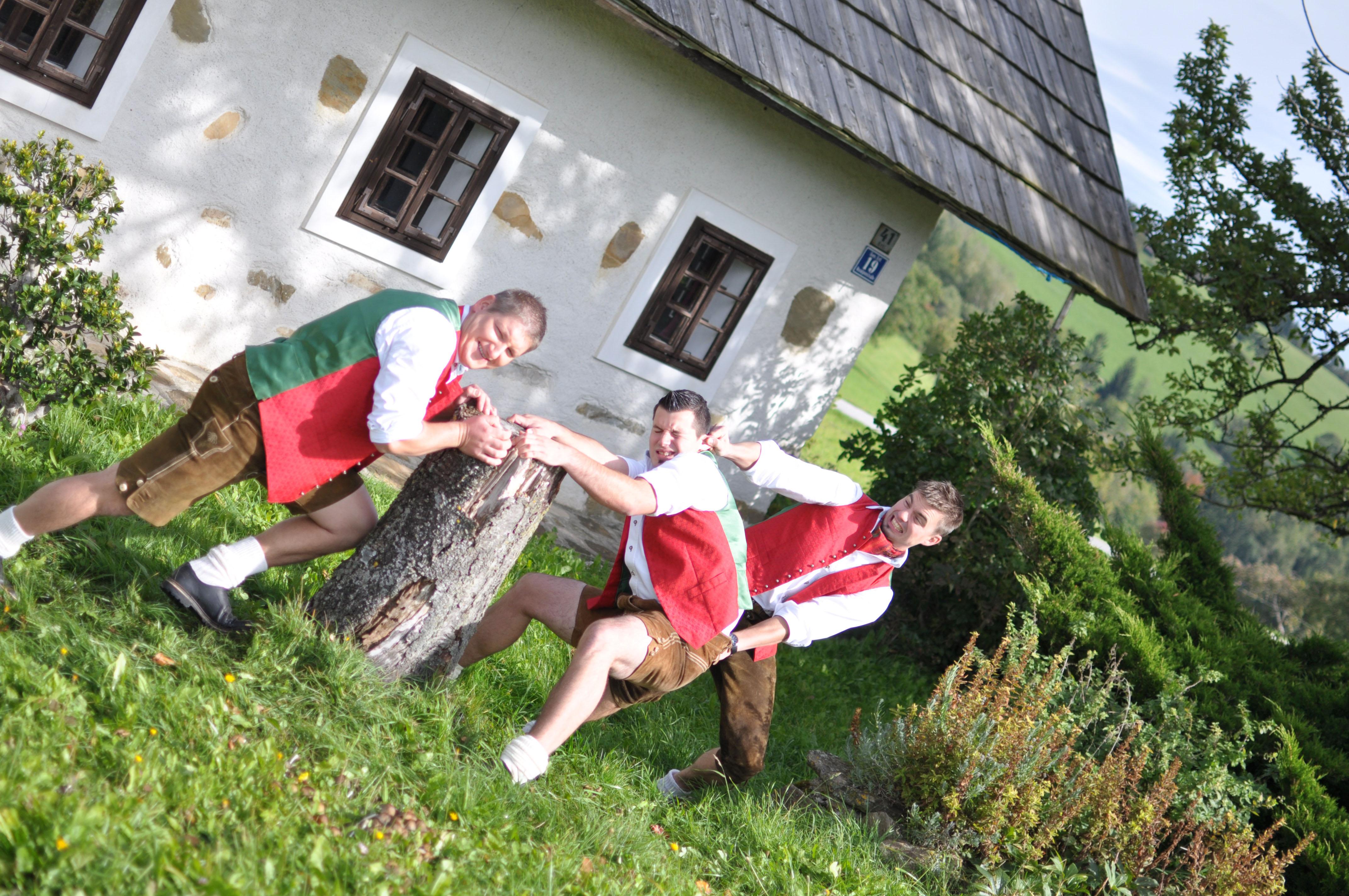"""""""Sogar in der Waidhofner Diskothek Hammerwerk werden Lieder von uns gespielt."""" Foto: Andrea Pichler"""