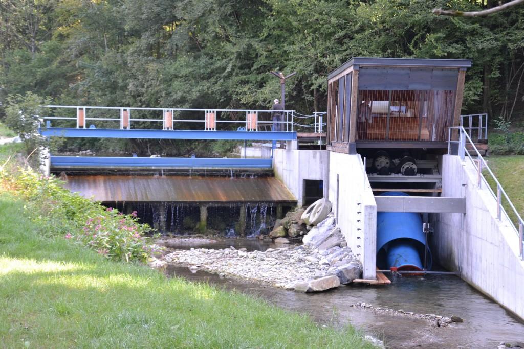 Das Wasserkraftwerk Jeßnitz. Fotos: www.eisenstrasse.info