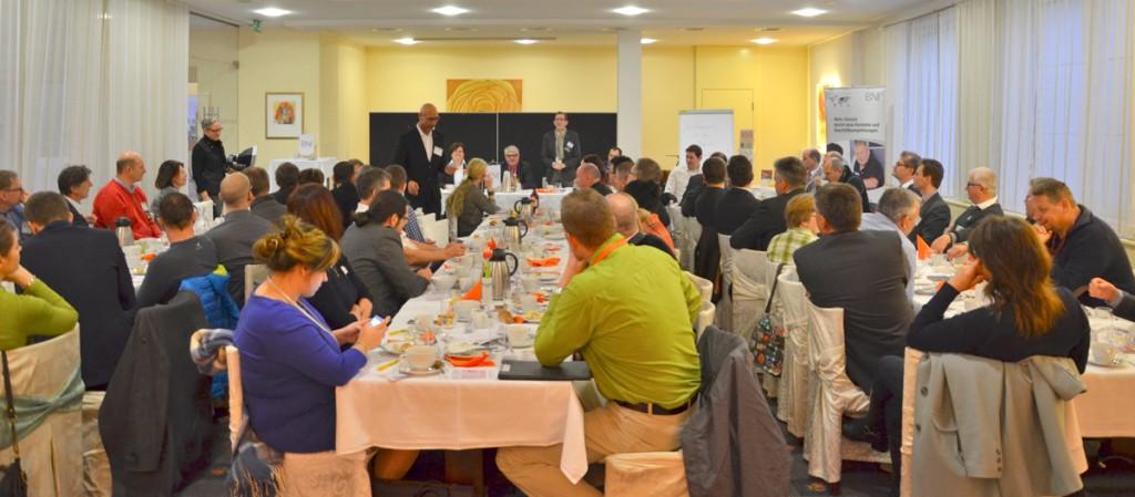 Das BNI Chapter Ostarrichi freut sich über mehr als 38 Mitglieder und zahlreiche Besucher