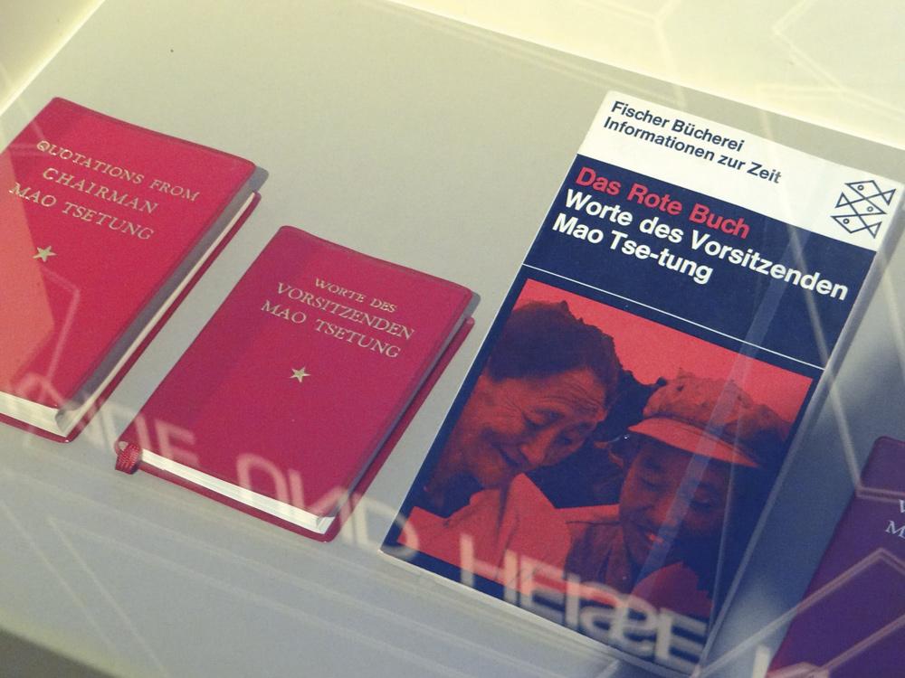Worte des Vorsitzenden Mao Foto: Fritz Haselsteiner