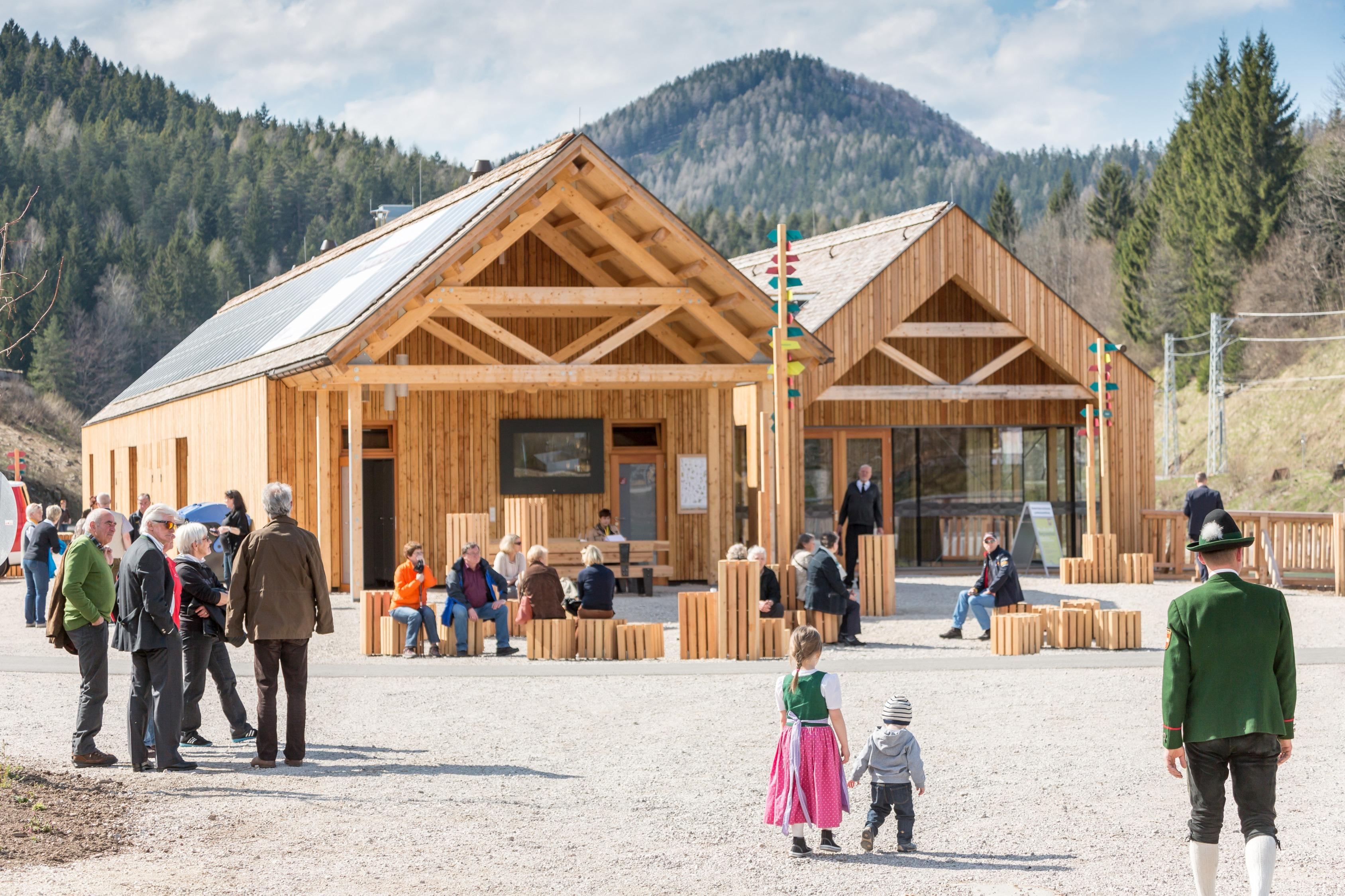 Das Naturpark-Zentrum Ötscher-Basis bleibt als touristischer Angelpunkt erhalten. Foto: Fred Lindmoser
