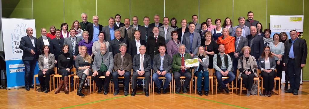 Mitgliederversammlung der LEADER-Region Mostviertel-Mitte Foto: Johannes Scherndl