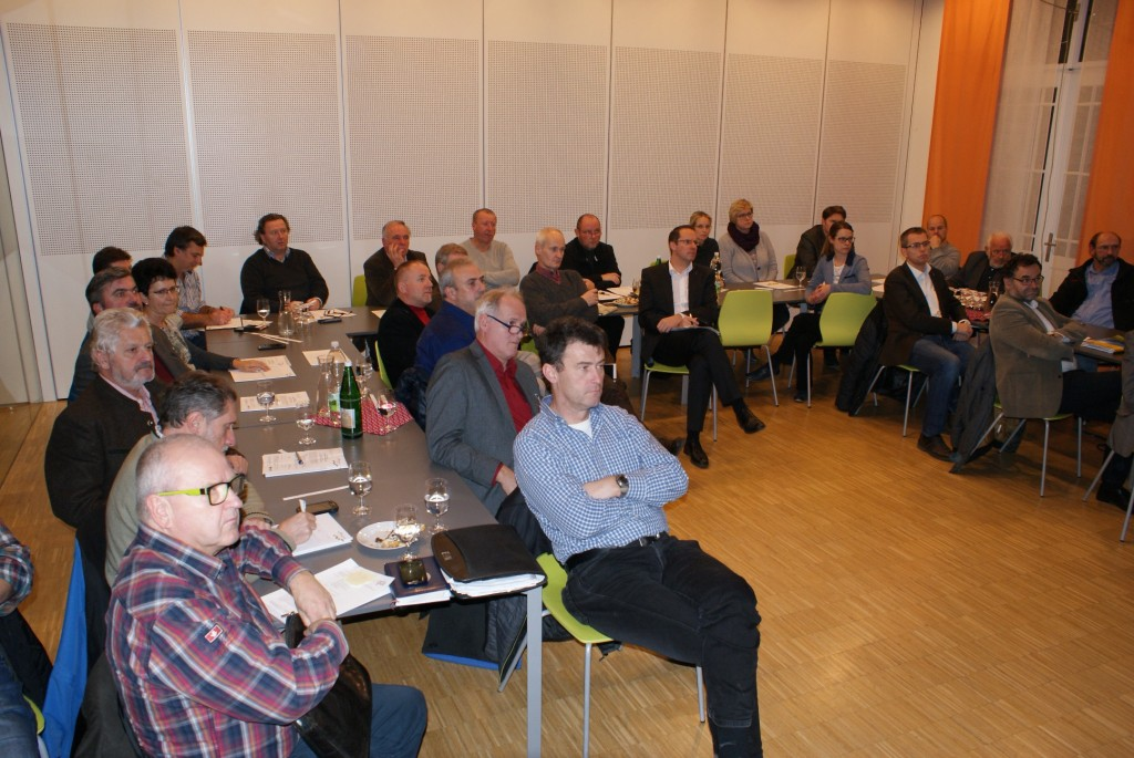 Zahlreiche Gemeindevertreter aus den Bezirken Amstetten, Melk und Scheibbs nahmen am Mobilitätsabend teil Foto: NÖ.Regional.Gmbh