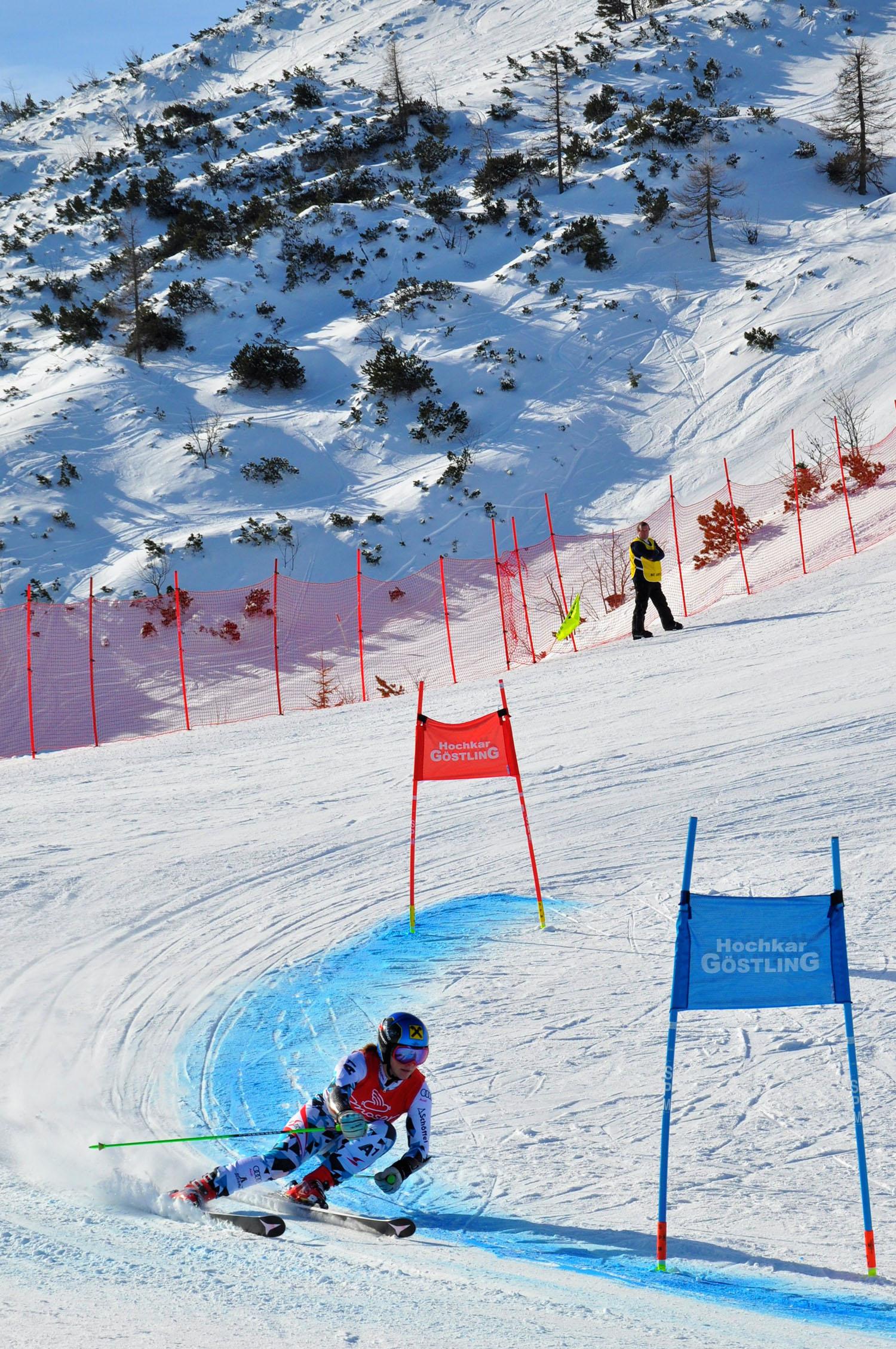 ÖSV-Asse wie Lokalmatadorin Katharina Gallhuber sind bei den Österreichischen Meisterschaften vom 22. bis 25. März am Hochkar und am Ötscher zu Gast. Foto: Andreas Danner