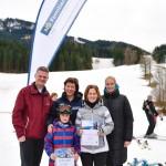 Mit Kind, Ski und Kegel: Pistenspaß beim NÖ Familienskitag