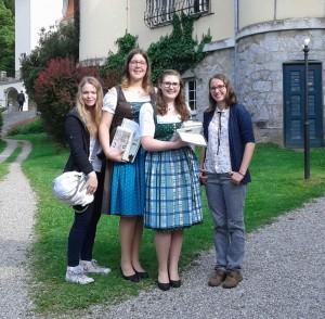 Lisa Dobnik, Kerstin Wagner, Julia Haberfellner, Iris Voglauer Foto: Privat