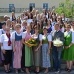Stimmungsvolle Abschlussfeier inder Landwirtschaftlichen Fachschule Sooß